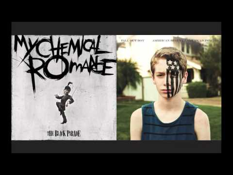 My Chemical Romance - Mush up  - легкая версия нот для фортепиано